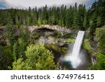 Landscape photo of Brandywine Falls in Whistler, British Columbia, Canada