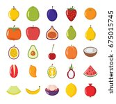 fresh seasonal farmer market...   Shutterstock .eps vector #675015745