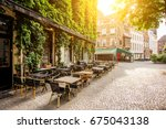 Street View With Cafe Terrace...