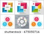 circles diagram  data elements... | Shutterstock .eps vector #675050716