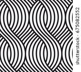 vector seamless pattern. modern ... | Shutterstock .eps vector #675082552