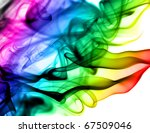 abstract colorful fume patterns ... | Shutterstock . vector #67509046