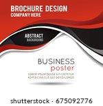 professional business design...   Shutterstock .eps vector #675092776