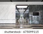 entrance corridor with... | Shutterstock . vector #675099115