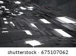 empty dark abstract concrete... | Shutterstock . vector #675107062