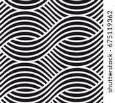 vector seamless pattern. modern ... | Shutterstock .eps vector #675119362