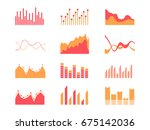 business data market elements... | Shutterstock .eps vector #675142036