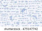 vector illustration of math... | Shutterstock .eps vector #675147742