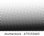 halftone background. comic... | Shutterstock .eps vector #675152665