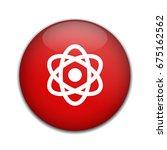 atom icon. atom symbol. | Shutterstock .eps vector #675162562