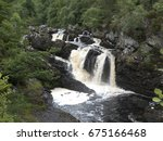 Rogie Falls In The Highlands O...