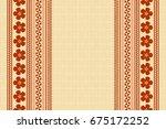 hawaiian background in... | Shutterstock .eps vector #675172252