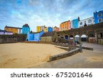 Tenby Harbour In  Pembrokeshir...