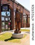 Sasquatch Statue At...