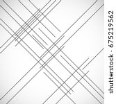 abstract hipster lines... | Shutterstock .eps vector #675219562