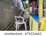 las terrenas  dominican... | Shutterstock . vector #675221662