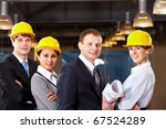 portrait of several architects... | Shutterstock . vector #67524289