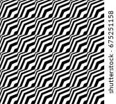 seamless pattern with black... | Shutterstock .eps vector #675251158