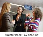 Group Of Multiethnic Female...