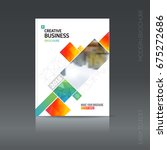 simple style brochure. flyer...   Shutterstock .eps vector #675272686