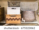 assorted variety of home... | Shutterstock . vector #675323062