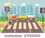 stock vector illustration... | Shutterstock .eps vector #675324652