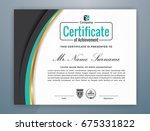 multipurpose modern... | Shutterstock .eps vector #675331822