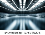 modern future background... | Shutterstock . vector #675340276