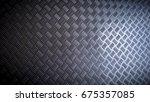 details of a metal surface | Shutterstock . vector #675357085