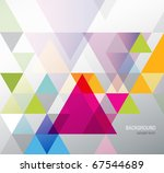 abstract background for design | Shutterstock .eps vector #67544689
