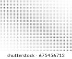 abstract halftone dotted... | Shutterstock .eps vector #675456712