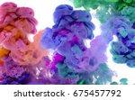 Swirl Multi Color Smoke Moving...