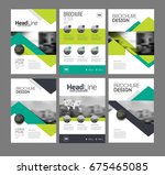 six front page and back page...   Shutterstock . vector #675465085