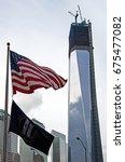manhattan  new york   october... | Shutterstock . vector #675477082
