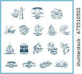 collection of badges for... | Shutterstock .eps vector #675510502