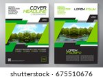 business brochure. flyer design.... | Shutterstock .eps vector #675510676