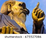 Lao Tzu Statue In Palace Of...