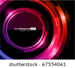abstract trendy retro... | Shutterstock .eps vector #67554061