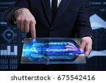 business  technology  internet... | Shutterstock . vector #675542416