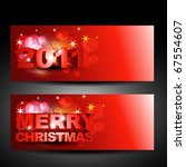 vector christmas and new year... | Shutterstock .eps vector #67554607