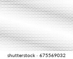 abstract halftone dotted... | Shutterstock .eps vector #675569032