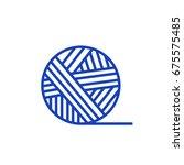 thread icon | Shutterstock .eps vector #675575485