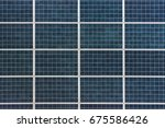 Texture Of Panel A Solar...