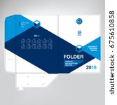 folder for documents design  a... | Shutterstock .eps vector #675610858