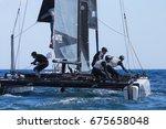 funchal  madeira island   june... | Shutterstock . vector #675658048