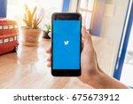 chiangmai  thailand  feb 13... | Shutterstock . vector #675673912