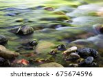 Shallow Water And Colorful...