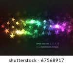 eps10 vector abstract rainbow...