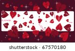 holidays hearts | Shutterstock .eps vector #67570180