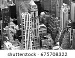 top view of the cityscape | Shutterstock . vector #675708322